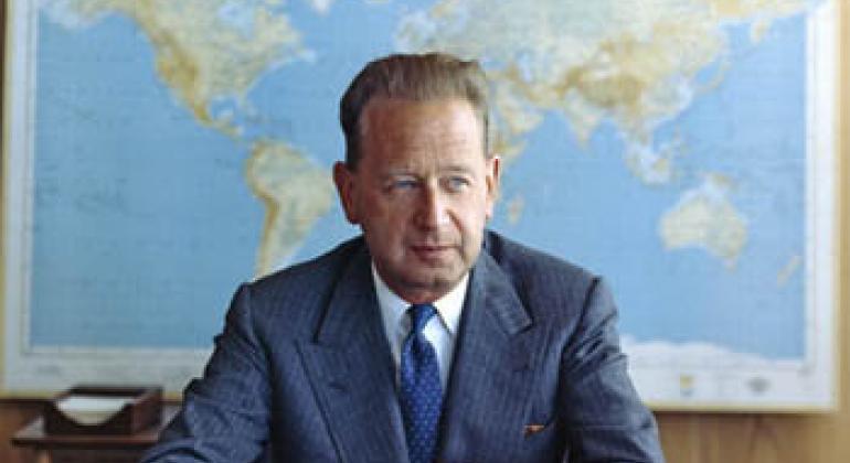 Даг Хаммаршельд. Фото ООН