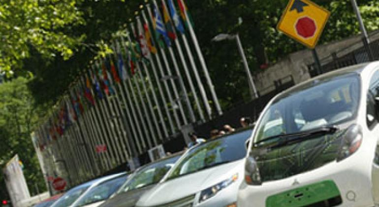 Электрические машины. Фото ООН