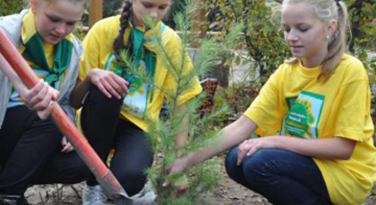 Климатические проекты молодежи на Украине. Фото ЮНЕП