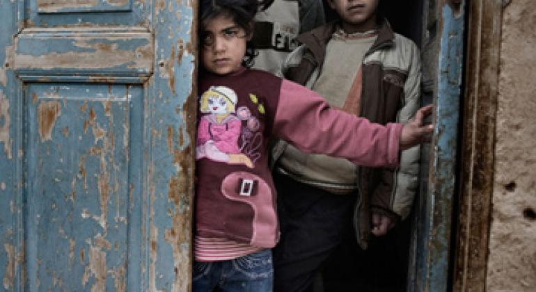 Дети в Сирии. Фото ЮНИСЕФ