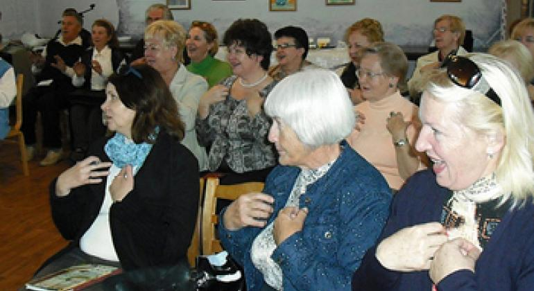 Занятия в Университете золотого возраста. Фото с сайта УЗВ