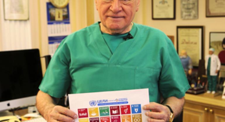 Лео Бокерия. Фото Информцентра ООН в Москве