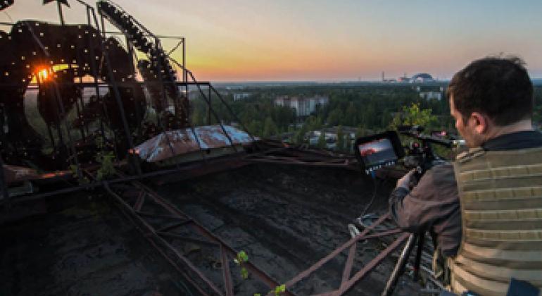 Филипп Гроссман в Припяти. Фото PGP Images