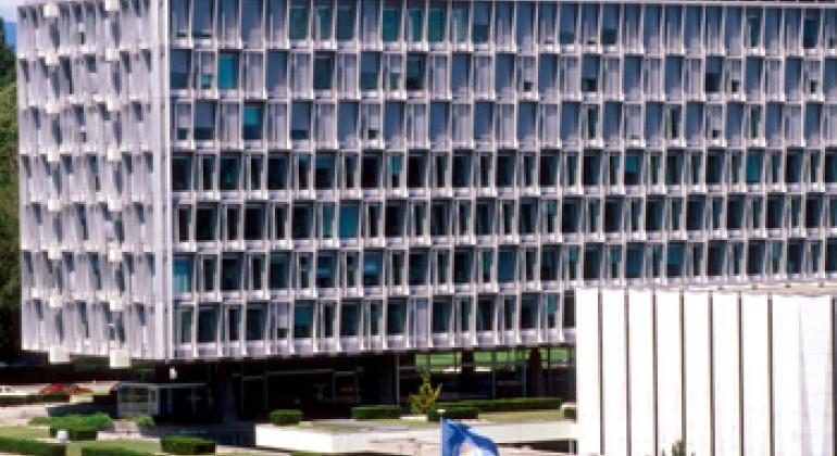 Штаб-квартира ВОЗ в Женеве. Фото ВОЗ