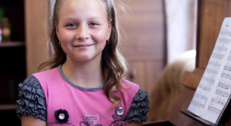Дарья Болт - одна из участниц проекта. Фото ЮНФПА в Беларуси