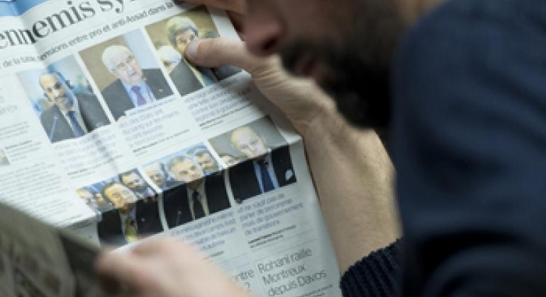 Пресса. Фото ООН