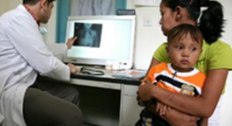 Туберкулез - одна из главных причин смерти в мире. Фото ВОЗ