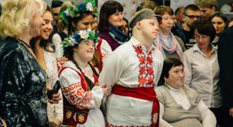 Кампания «Инклюзивная Беларусь». Фото Представительства ООН в Беларуси