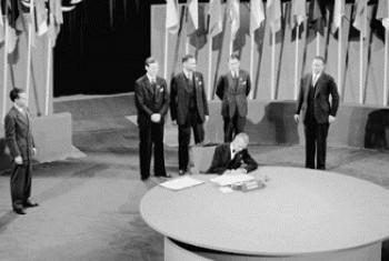 Подписание Устава ООН. Фото ООН