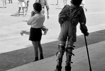 Дети-инвалиды. Фото ООН