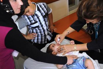 Вакцинация детей. Фото ООН