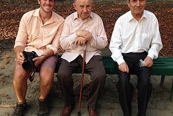 Брэндон Стэнтон (слева) / Фото ООН