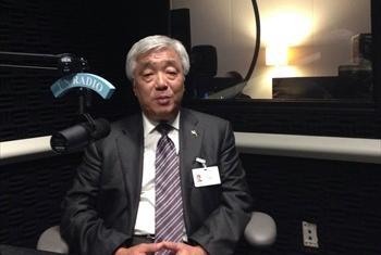 Глава МИД Казахстана Е.А. Идрисов. Фото Радио ООН