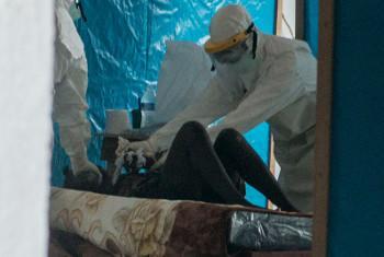 Вспышка лихорадки Эбола. Фото ООН