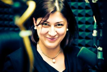Вероника Литвинова. Фото с Фейсбука ведущей