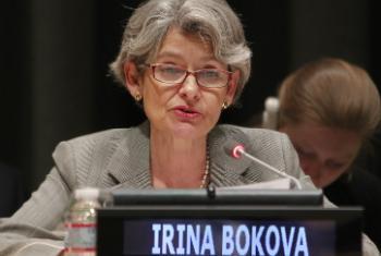 Ирина Бокова. Фото ООН