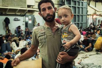 Беженцы. Фото ООН