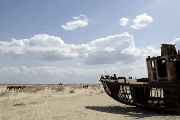 Аральское море. Фото ООН