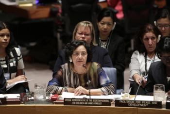 Лейла Зерруги, фото ООН