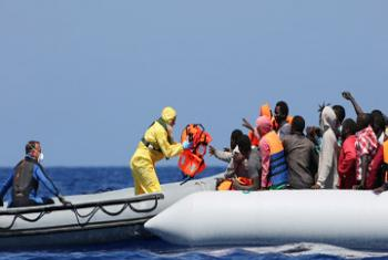 Наплыв беженцев в Европу. Фото МОМ