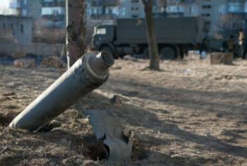 В зоне конфликта на востоке Украины. Фото: ЮНИСЕФ