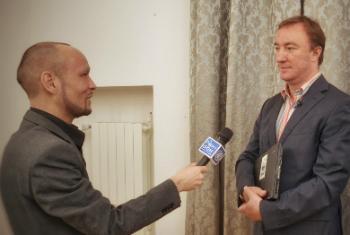 Р. Исмагилов и М. Бабенко. Фото ООН / Лев Нешин
