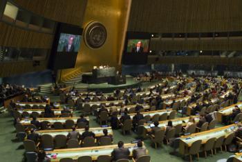 Зал Генассамблеи ООН. Фото ООН