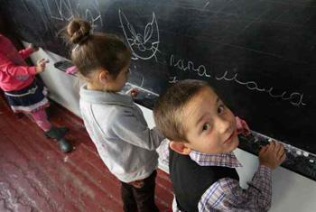 Дети в школе, Донецкая область. Фото ЮНИСЕФ