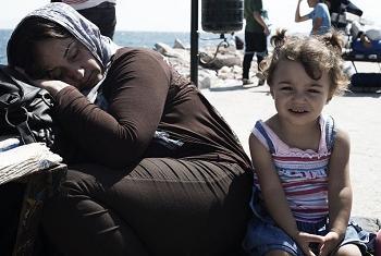 Беженцы в Греции. Фото ЮНИСЕФ