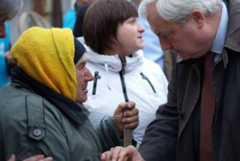 Стивен О`Брайен. Фото Управления ООН по координации гуманитарных вопросов