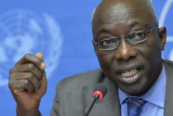 Адама Дьенга. Фото ООН