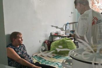 Профилактика ВИЧ-инфицированных на востоке Украины. Фото ВОЗ