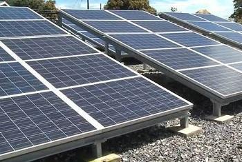 Солнечные панели. Фото ООН