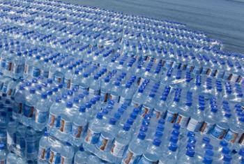 Безопасная питьевая вода. Фото ООН
