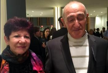Аида и Мартин Гехт. Фото Радио ООН