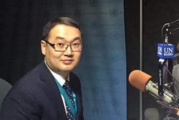 Ержан Ашикбаев. Фото Радио ООН