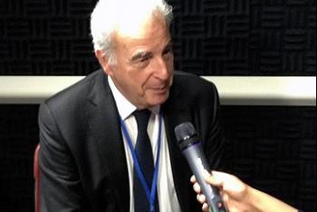 Мишель Казачкин. Фото Радио ООН