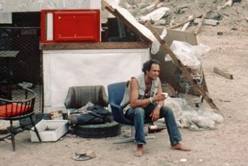 Бездомный. Фото ООН