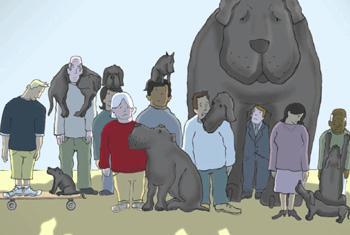 Кадр из мультфильма ВОЗ о депрессии.