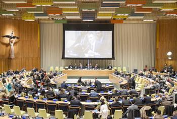 Собеседование кандидатов с членами ГА. Фото ООН