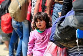 Сирийская девочка. Фото ЮНИСЕФ