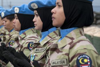 Женщины миротворцы из Малайзии. Фото ООН