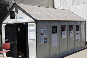 Дом для беженцев от ИКЕА. Фото ООН