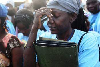 Вдовы Гаити. Фото ООН