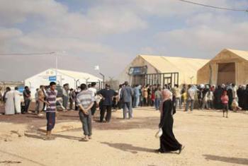Сирийские беженцы в Иордании. Фото ООН