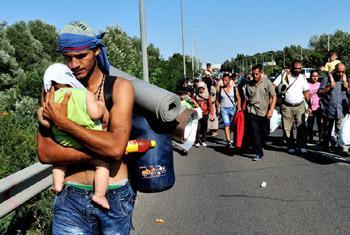 Беженцы. Фото УВКПЧ