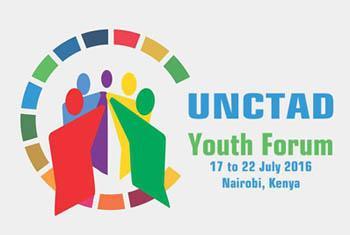 Логотип Молодежного форума ЮНКТАД