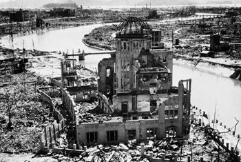 Руины Хиросимы. Фото ООН