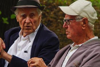 Пожилые люди. Фото ООН