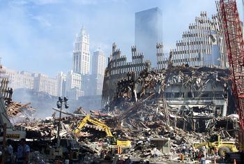 Теракт в Нью-Йорке. Фото ООН
